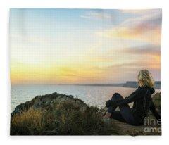 Peaceful Bliss Fleece Blanket