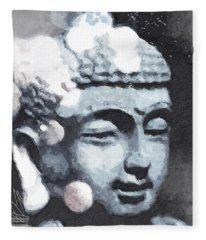 Meditate Fleece Blankets