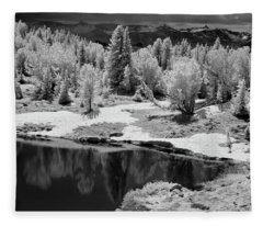 Peaceful Ir Fleece Blanket