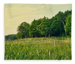 Peaceful Pastures Fleece Blanket