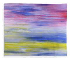 Peaceful Serenity Fleece Blanket