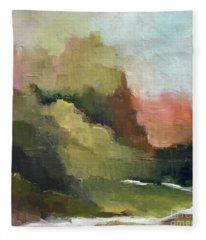 Peaceful Valley Fleece Blanket