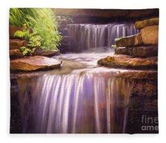 Peaceful Waters Fleece Blanket