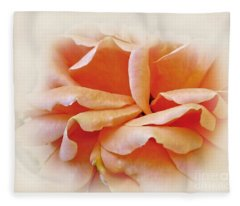 Peach Delight Fleece Blanket