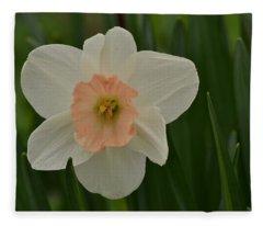 Peaches And Cream Fleece Blanket