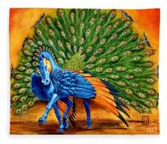 Stallion Fleece Blankets