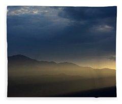 Peak-a-boo Fleece Blanket