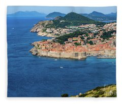 Pearl Of The Adriatic, Dubrovnik, Known As Kings Landing In Game Of Thrones, Dubrovnik, Croatia Fleece Blanket
