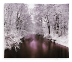 Pearlescent Fleece Blanket