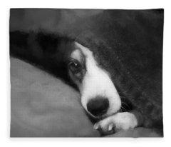 Peek-a-boo Fleece Blanket
