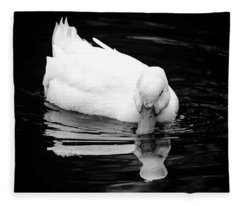 Peek-ing Duck Fleece Blanket