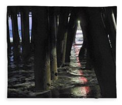 Peeking Fleece Blanket