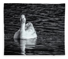 Pekin Duck Monochrome Fleece Blanket