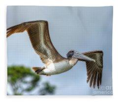 Pelican-4443 Fleece Blanket