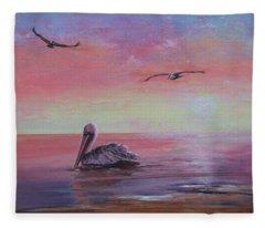 Pelican Bay Fleece Blanket