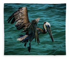 Pelican Glide Fleece Blanket