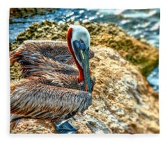 Pelican II Fleece Blanket