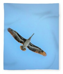 Pelican Overhead Fleece Blanket