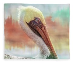Pelican Pasteles Fleece Blanket