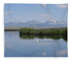 Pelicans Walden Res Walden Co Fleece Blanket