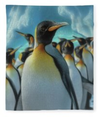 Penguin Paradise Fleece Blanket