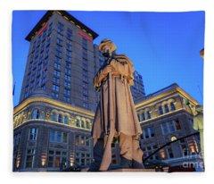 Penn Square Lancaster City Fleece Blanket