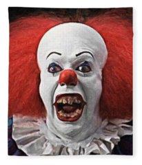 Pennywise The Clown Fleece Blanket
