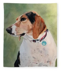 Pensive Piper Fleece Blanket