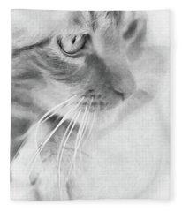 Pensive Fleece Blanket