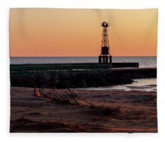 Pentwater Light Fleece Blanket