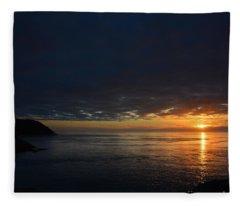 Penumbral  Fleece Blanket