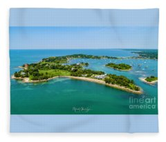 Penzance Point Fleece Blanket