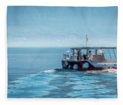 Perast Montenegro #2 Fleece Blanket