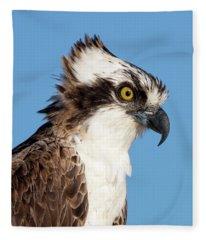 Peregrine Portrait Fleece Blanket