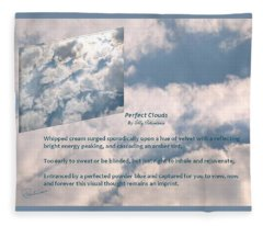 Perfect Clouds Fleece Blanket