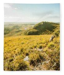Picture Perfect Pastures Fleece Blanket
