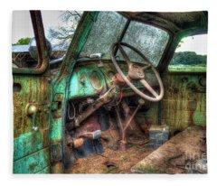 Perfect Storm Interior Design Special 1947 Chevy Truck Art Fleece Blanket