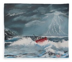 Perilous Night Fleece Blanket