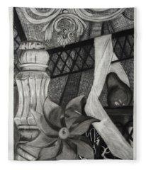 Perpeptual Pinwheel Fleece Blanket