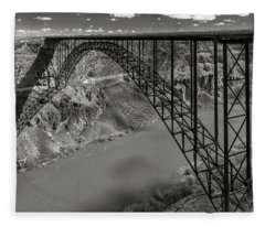 Perrine Bridge, Twin Falls, Idaho Fleece Blanket