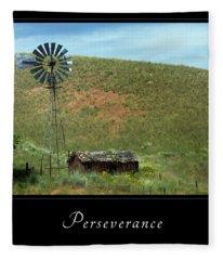 Perserverance 2 Fleece Blanket
