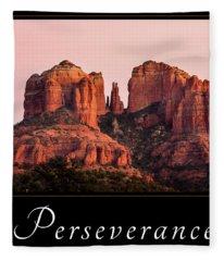 Perseverance Fleece Blanket
