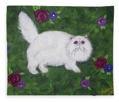 Persian Meadow Fleece Blanket