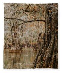 Perspective Of Cypress Fleece Blanket