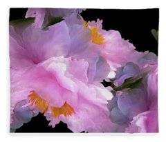 Petal Dimension 306  Fleece Blanket