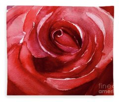 Petals Fleece Blanket