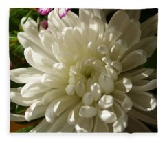 Petals Profusion Fleece Blanket