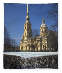 Peter And Paul Cathedral Fleece Blanket