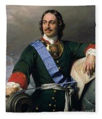 Peter I The Great Fleece Blanket