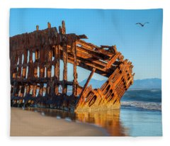 Peter Iredale II Fleece Blanket